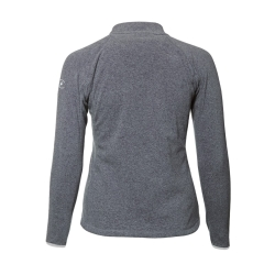 PINEA Damen Fleece Jacke VENLA Farbe HEATHER GREY Größe 40