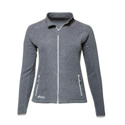 PINEA Damen Fleece Jacke VENLA Farbe HEATHER GREY Größe 48