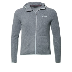 PINEA Unisex Fleece Hoodie RAMI Farbe GREY Größ M