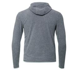 PINEA Unisex Fleece Hoodie RAMI Farbe GREY Größe L