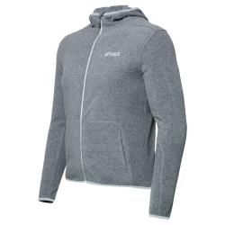 PINEA Unisex Fleece Hoodie RAMI Farbe GREY Größe 3XL