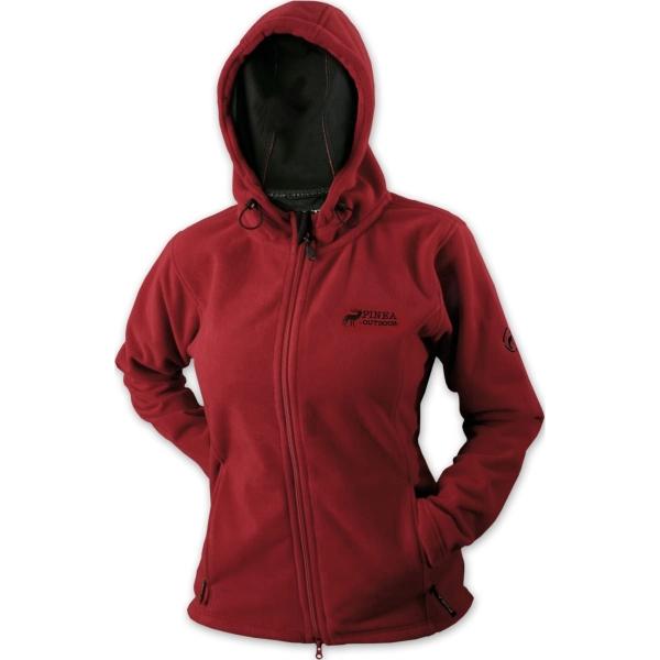 PINEA Damen Windblocker Jacke KRISTA Farbe ROT Größe S/36