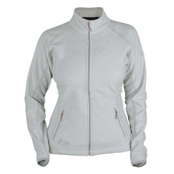 PINEA Damen Fleece Jacke MARI Farbe HELLGRAU