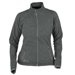 PINEA Damen Fleece Jacke MARI Farbe DUNKELGRAU