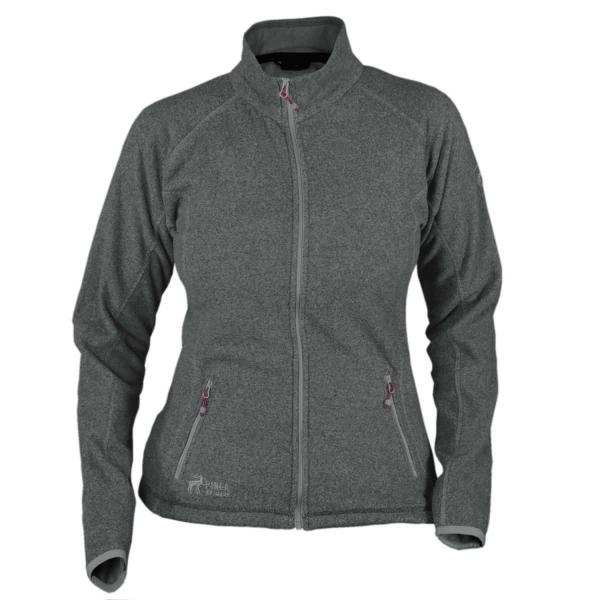 PINEA Damen Fleece Jacke MARI Farbe DUNKELGRAU Größe 46
