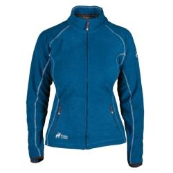 PINEA Damen Fleece Jacke MARI Farbe MYKONOS BLAU