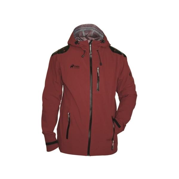 PINEA Herren 3-Layer Jacke SAMULI Farbe ROT