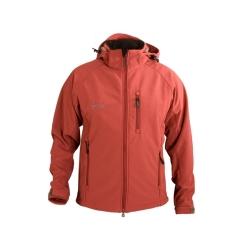 PINEA Herren Softshell Jacke TEEMU Farbe TIBETIAN ROT