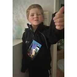 PINEA KINDER Softshell Jacke Farbe SCHWARZ Größe 128