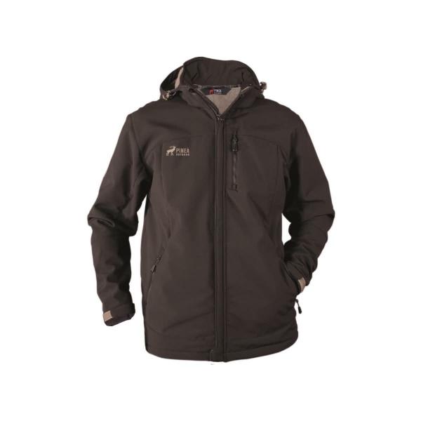 PINEA Herren Winter Softshell Jacke VESA Farbe BRAUN Größe S