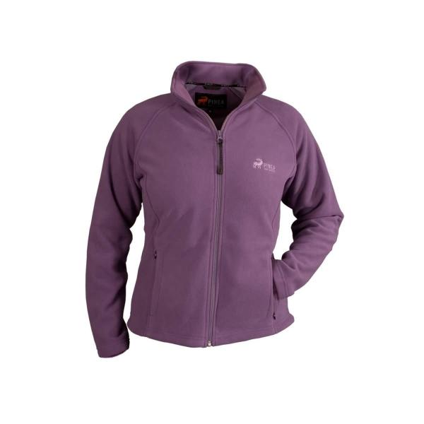 PINEA Damen Fleece Jacke TINA Farbe LILA