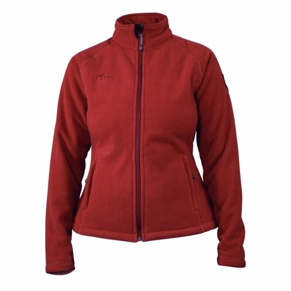 PINEA Damen Fleece Jacke TINA Farbe TERRA