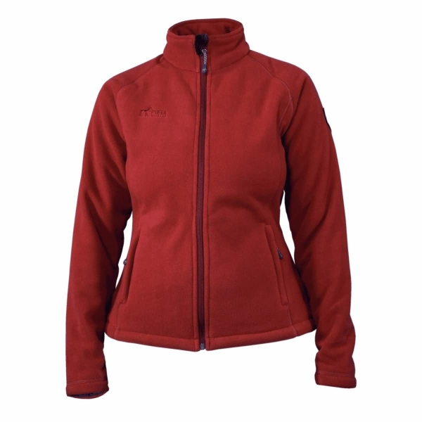 PINEA Damen Fleece Jacke TINA Farbe TERRA Größe 36