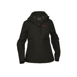 PINEA Damen Outdoor Jacke KATJA Farbe SCHWARZ
