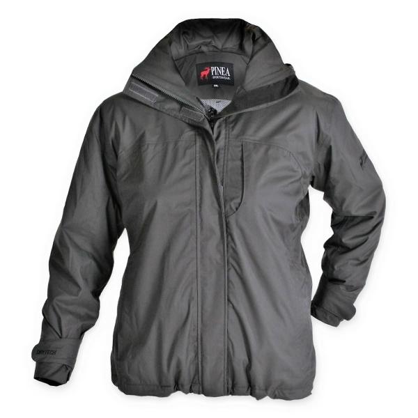 PINEA Damen Outdoor Jacke ARMI Farbe ANTRAZIT Größe 42