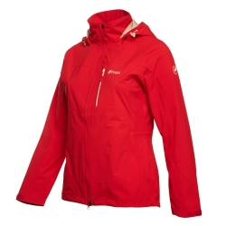 PINEA Damen Outdoor Jacke IIDA Farbe ROT