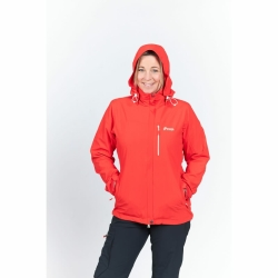 PINEA Damen Outdoor Jacke IIDA Farbe ROT Größe 44