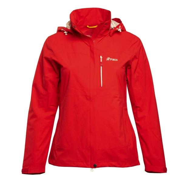 PINEA Damen Outdoor Jacke IIDA Farbe ROT Größe 46