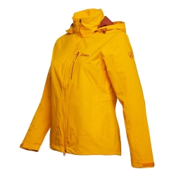 PINEA Damen Outdoor Jacke IIDA Farbe GELB-ORANGE