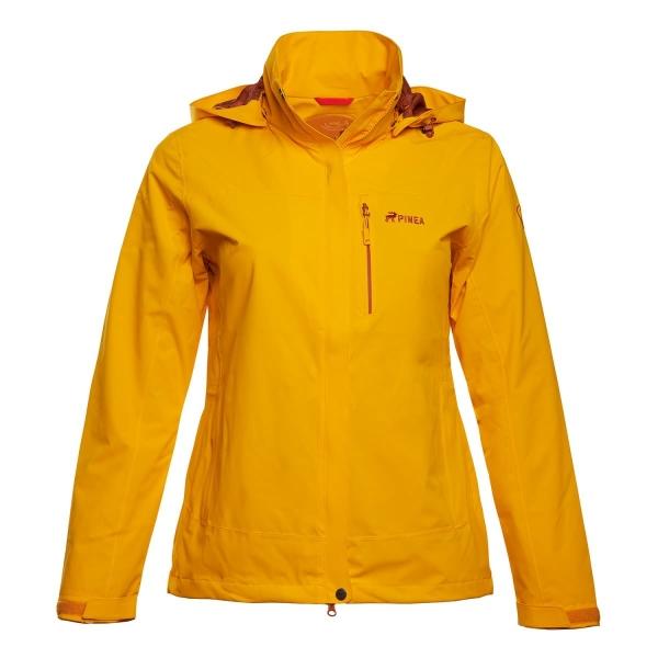 PINEA Damen Outdoor Jacke IIDA Farbe GELB-ORANGE Größe 46