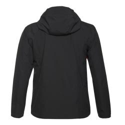 PINEA Herren Outdoor Jacke AKU Farbe SCHWARZ Große XXL