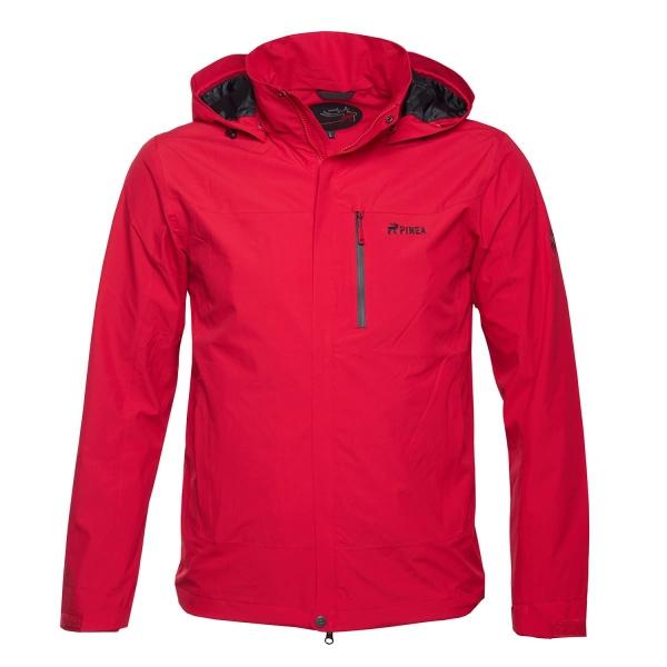 PINEA Herren Outdoor Jacke AKU Farbe ROT Größe XL