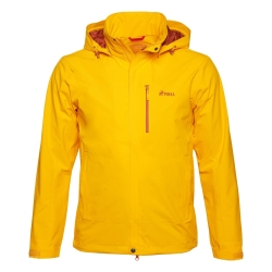 PINEA Herren Outdoor Jacke AKU Farbe GELB-ORANGE