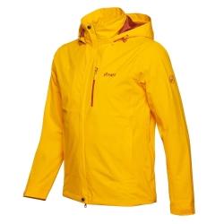 PINEA Herren Outdoor Jacke AKU Farbe GELB-ORANGE