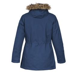 PINEA Damen Winter Mantel ANNE Farbe DUNKELBLAU