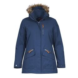 PINEA Damen Winter Mantel ANNE Farbe DUNKELBLAU Größe 34