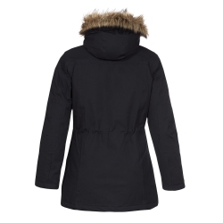PINEA Damen Winter Mantel ANNE Farbe SCHWARZ