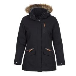 PINEA Damen Winter Mantel ANNE Farbe SCHWARZ Größe 44