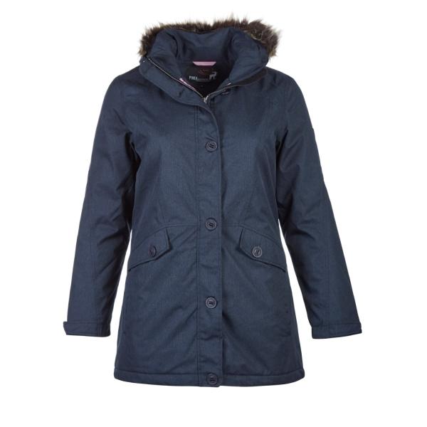 PINEA Damen Mantel PILVI Farbe MAJOLICA BLAU Größe 34