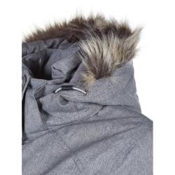 PINEA Damen Mantel PILVI Farbe MITTELGRAU