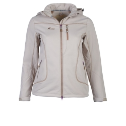 PINEA Damen Winter Softshell Jacke ROOSA Farbe SCHLAMM in...