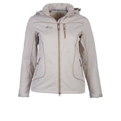 PINEA Damen Winter Softshell Jacke ROOSA Farbe SCHLAMM Größe 46