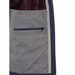 PINEA Damen Winter Softshell Jacke ROOSA Farbe NACHTBLAU