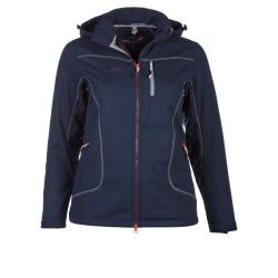 PINEA Damen Winter Softshell Jacke ROOSA Farbe NACHTBLAU Größe 36