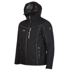 PINEA Herren Winter Softshell Jacke ROBIN Farbe SCHWARZ