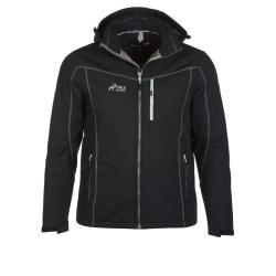 PINEA Herren Winter Softshell Jacke ROBIN Farbe SCHWARZ Größe S