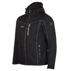 PINEA Herren Winter Softshell Jacke ROBIN Farbe SCHWARZ Größe 3XL