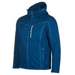 PINEA Herren Winter Softshell Jacke ROBIN Farbe POSEIDON BLAU Größe XXL