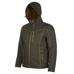 PINEA Herren Winter Softshell Jacke ROBIN Farbe DUNKELOLIVE