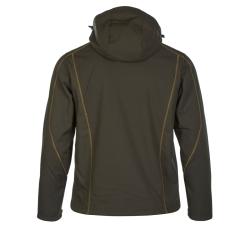 PINEA Herren Winter Softshell Jacke ROBIN Farbe DUNKELOLIVE Größe S