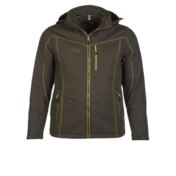 PINEA Herren Winter Softshell Jacke ROBIN Farbe DUNKELOLIVE Größe XXL