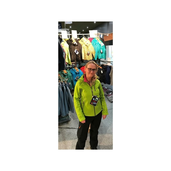 PINEA Damen Softshell Jacke KATA Farbe LIMEGRÜN