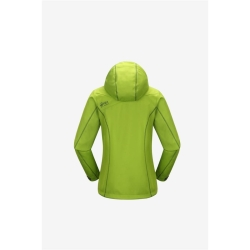 PINEA Damen Softshell Jacke KATA Farbe LIMEGRÜN Größe 46