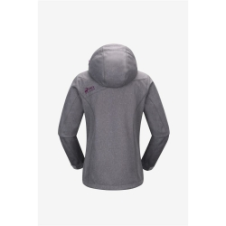 PINEA Damen Softshell Jacke KATA Farbe HELLGRAU Größe 44