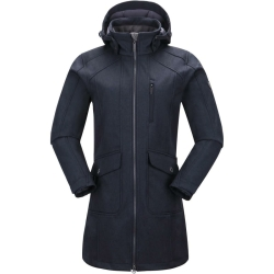 PINEA Damen Softshell Mantel MIMMI Farbe DUNKELBLAU in...