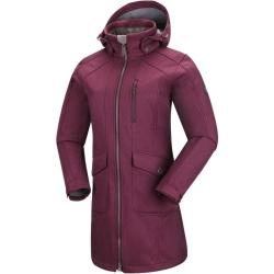 PINEA Damen Softshell Mantel MIMMI Farbe MAGENTA